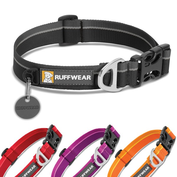 Hoopie Collar Hundehalsband in coolen Farben von Ruff Wear
