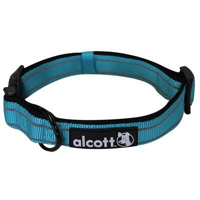 Abenteuer-Halsband aus robustem Nylon mit Reflekt-Streifen von alcott
