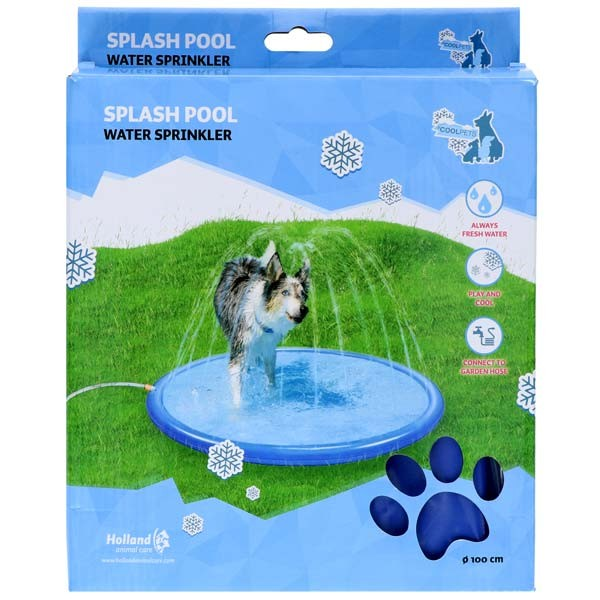 Splash Pool CoolPets Fontänendusche von Holland Animal Care