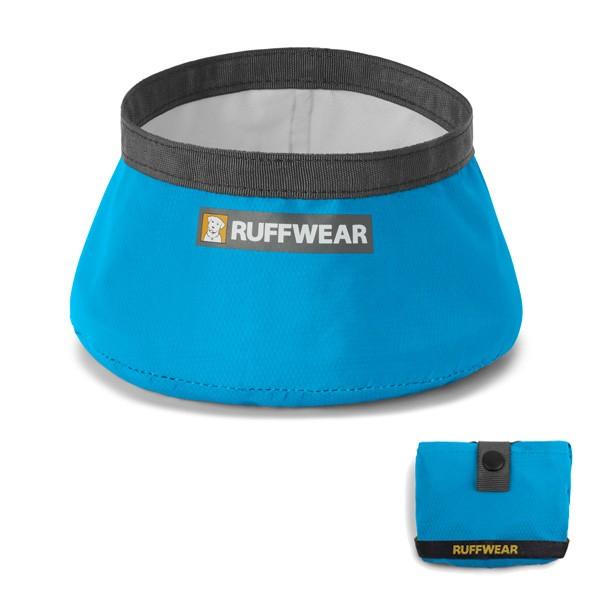 Trail Runner Bowl ultraleichter faltbarer Hundenapf von Ruff Wear für unterwegs