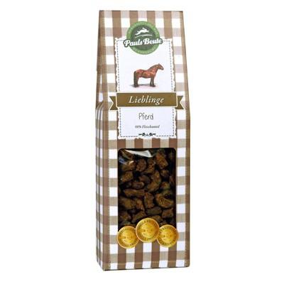 Hundeleckerlie Lieblinge Pferd mit 98 % Pferdefleisch von Pauls Beute