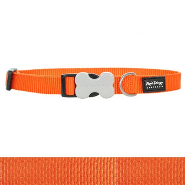 Hundehalsband aus Nylon von Red Dingo in saftigem Orange