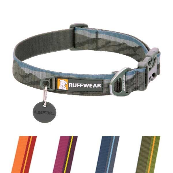 Flat Out Collar Hundehalsband von Ruff Wear mit Klickverschluss