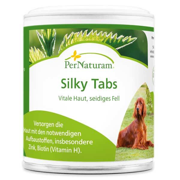 Silky Tabs für vitale Haut und seidiges Fell von PerNaturam