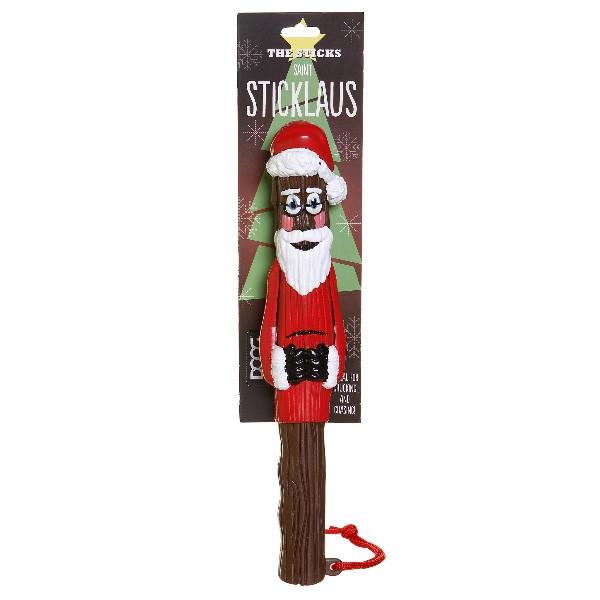 Saint Sticklaus lustiger Weihnachtsmann-Wurfstock von doog