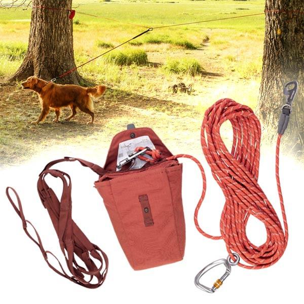 Knot-a-Hitch Leinensystem für Freilaufareale von Ruff Wear