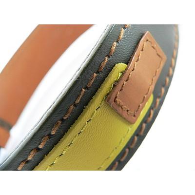 Hamish McBeth Leder-Halsband Spanner Dark Green