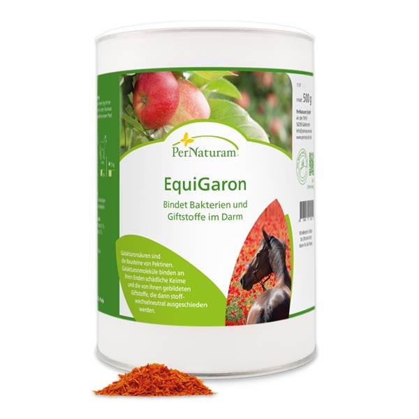 Natürlicher Entgifter EquiGaron von PerNaturam für Pferde
