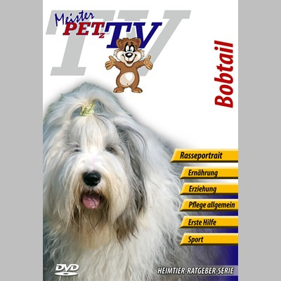 Bobtail Hunderasse-Video-Portrait auf DVD