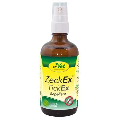 ZeckEx von cdVet als natürliches akut Zecken-Abwehrspray