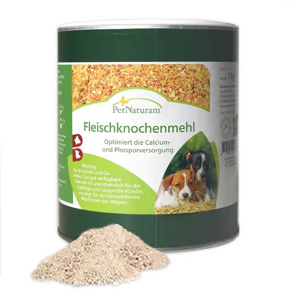 Kalzium für Knochen - Fleischknochenmehl von PerNaturam