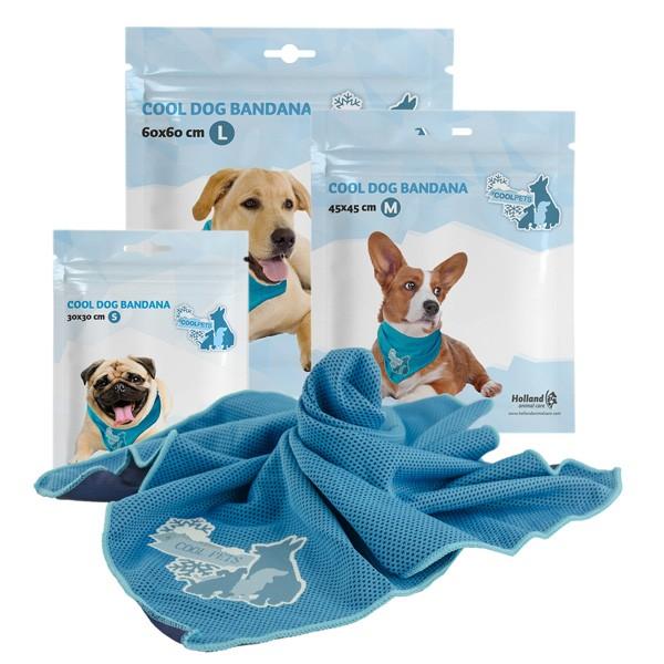Cool Dog Bandana Kühltuch mit Wasserkühlung von Holland Animal Care