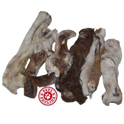 Fellstreifen-Leckerlie aus Rinderhaut als Darmputzer