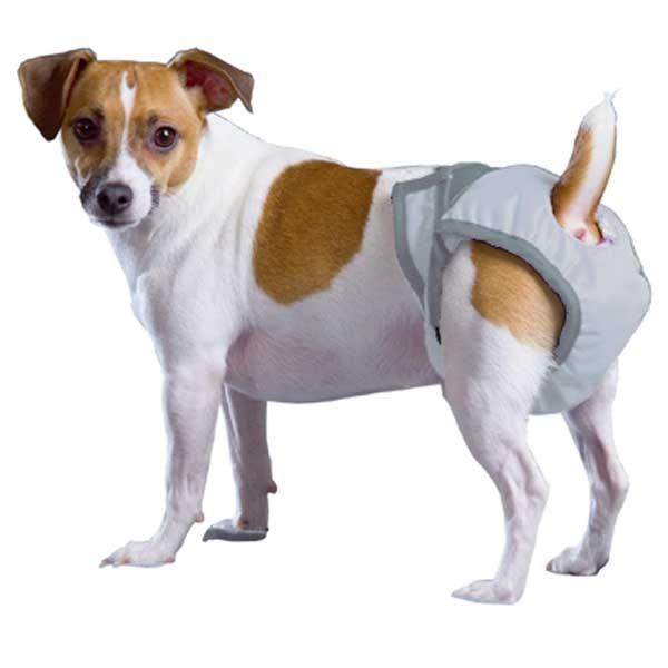 PoochPad Luxus Hundewindel - waschbar geruchsarm saugfähig