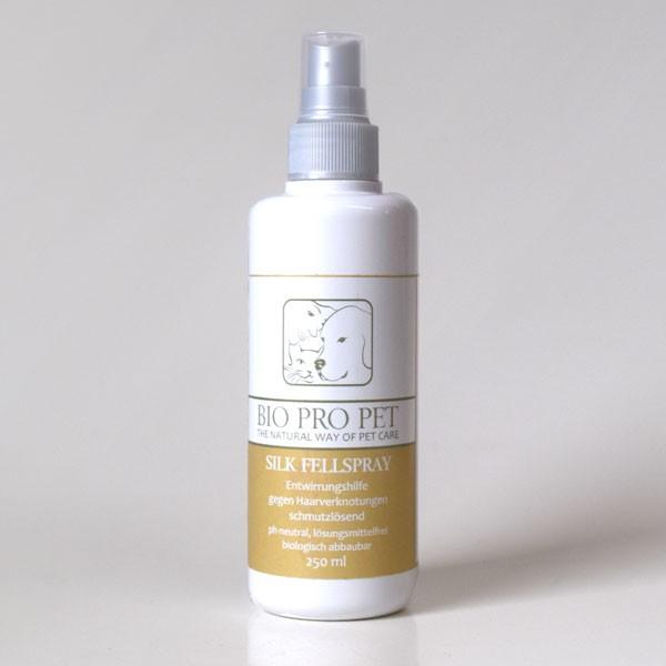 Silk-Fellspray gegen Verfilzung Verschmutzung von Bio Pro Pet
