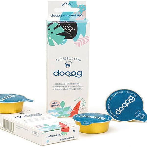 dooog Bouillon köstliche Rinderbrühe für trinkmuffelige Hunde und als Belohnung