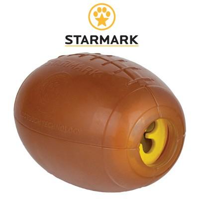 Football mit Crunch-Effekt und Leckerli-Öffnung von Star Mark