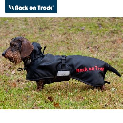 Dackel-Hundemantel mit Keramik-Textilien von Back on Track