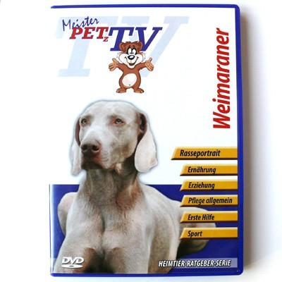 Meister Petz TV Portrait-DVD Weimeraner