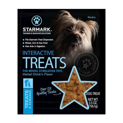 Interactive Treats Leckerlie von Star Mark zum Befüllen von Hundespielzeug