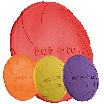 Doggy Disc Frisbee aus Naturgummi auch für Welpen von Trixie
