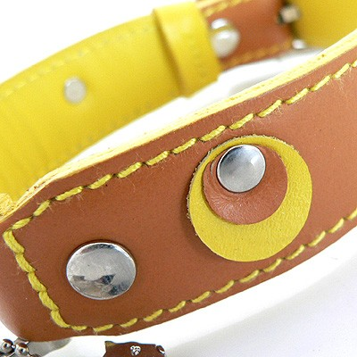 Hamish McBeth Leder-Halsband Moet Tan