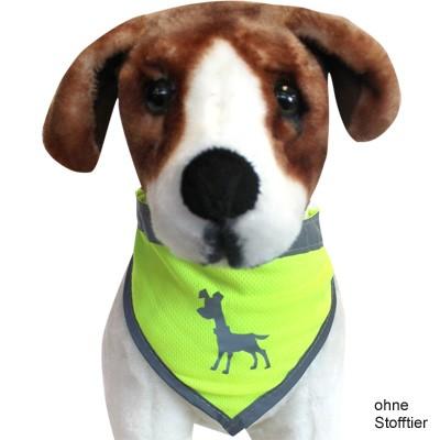 Leucht-Halstuch Dog Bandana Neon reflektierend von alcott