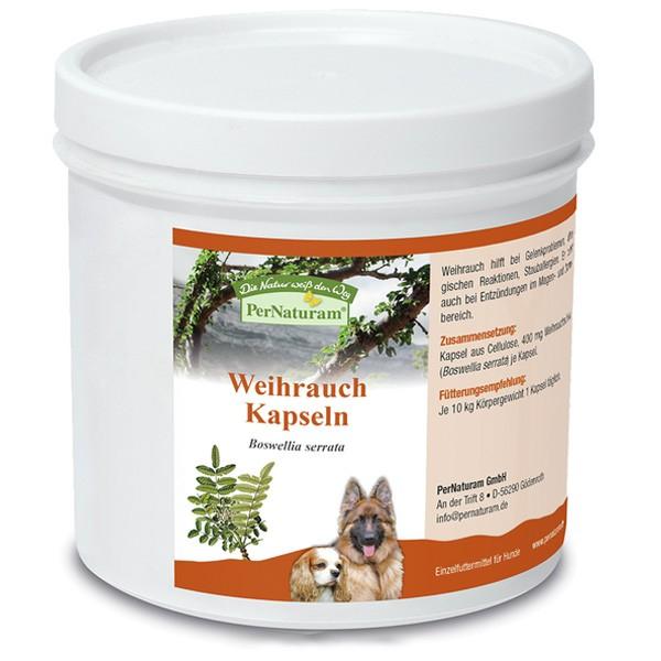 Weihrauch Kapseln von PerNaturam für einen gesunden Hund