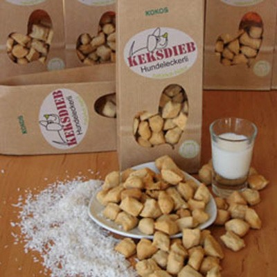 Buttermilch-Kokos-Tropfen mit Dinkelmehl von Keksdieb