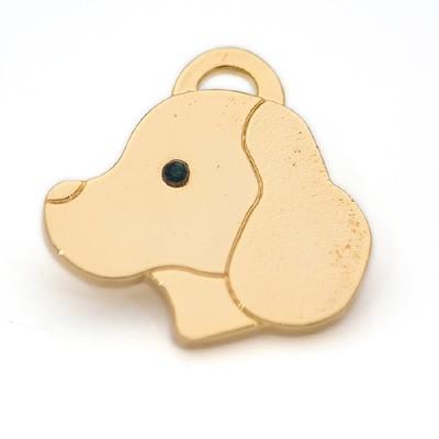 Hunde-Anhänger Dog Head. Von Hamish McBeth
