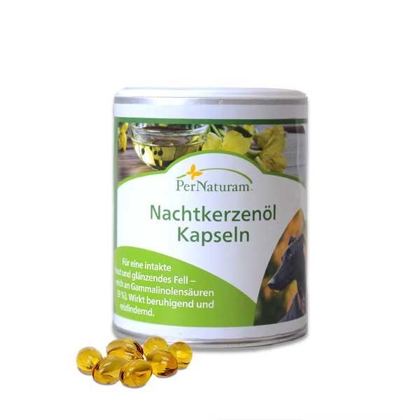 Regeneration der Haut - Per Naturams Nachtkerzenöl-Kapseln