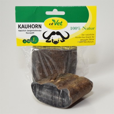 Kauhorn vom Wasserbüffel - natürlich langanhaltender Kauspaß von cdVet