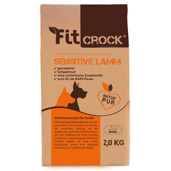 Fit-Crock Sensitive Lamm getreidefreies natürliches Trockenfutter von cdVet