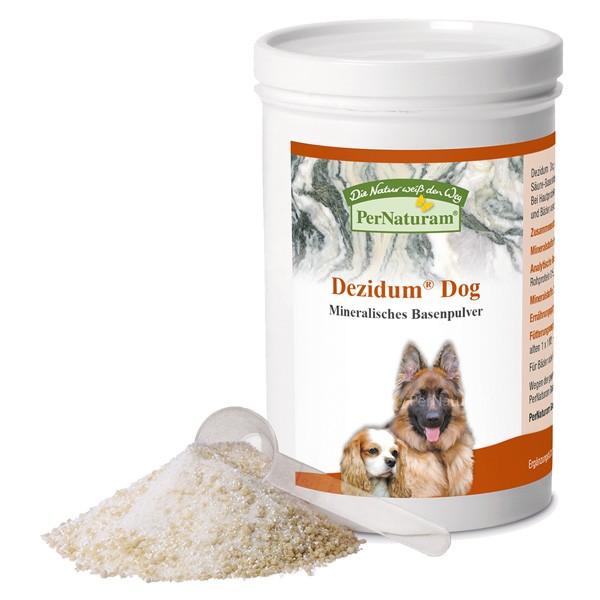 Dezidum Dog mineralisches Basenpulver von PerNaturam