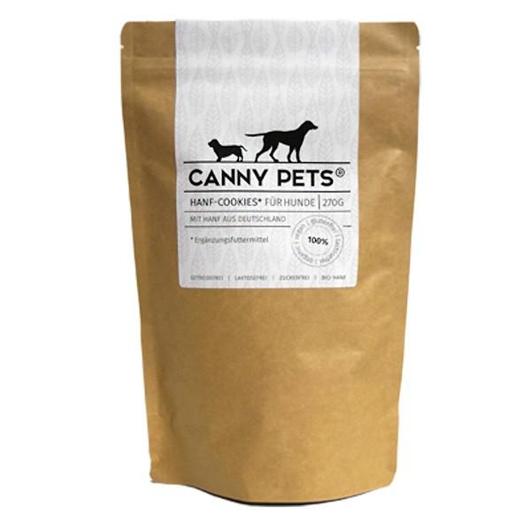 Hanf-Cookies von Canny Pets für einen vitalen Hund - vegan und natürlich