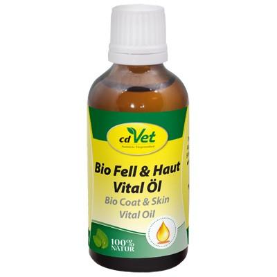 Vitalstoffreiches Bio Fell & Haut Vital Öl von cdVet