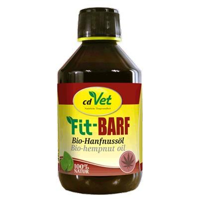 cdVet Fit-Barf Bio-Hanfnussöl - Nahrungsergänzer für Barfer