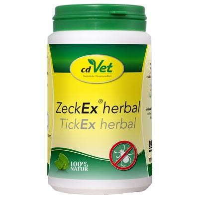 ZeckEx Herbal - der natürliche Zeckenschutz-Verstärker von cdVet
