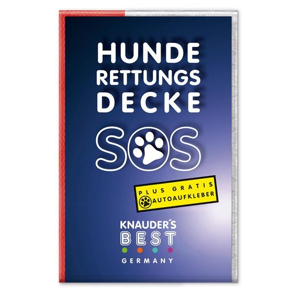 Hunde-Rettungsdecke und Transporthilfe von Knauder's Best