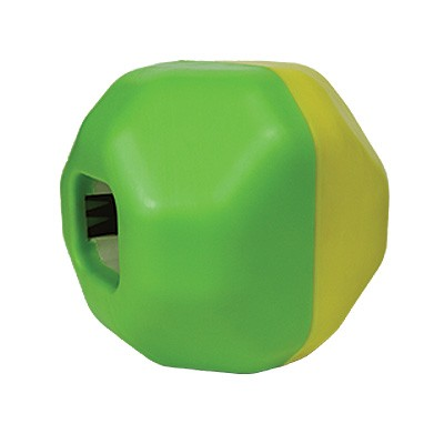 Treat Dispensing Puzzle Ball mit vier Leckerlie-Kammern von Star Mark