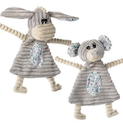 Kuschel-Alarm - Mouse und Donkey Hundespielzeug von Hunter