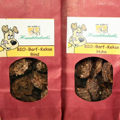 Bio-Barf-Kekse Rind oder Huhn von Kay Kleins