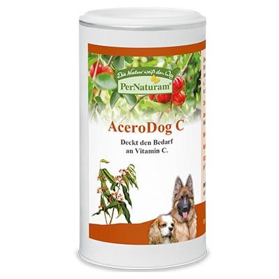 AceroDog C von PerNaturam mit viel Vitamin C der Acerolakirsche