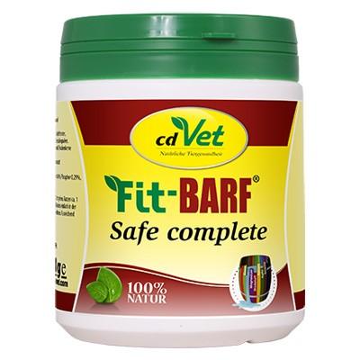Fit-Barf Safe Complete von cdVet - der unkomplizierte Nahrungsergänzer für jedes Futter