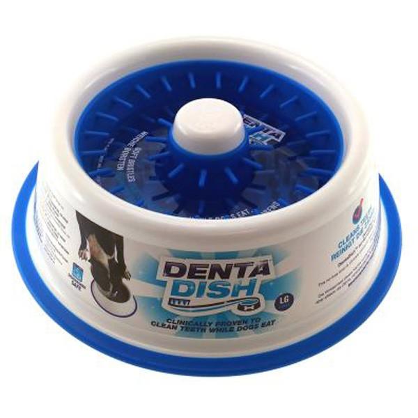 Denta Dish Napf mit Zahnpflege-Borsten und Anti-Schling-Funktion von R2P