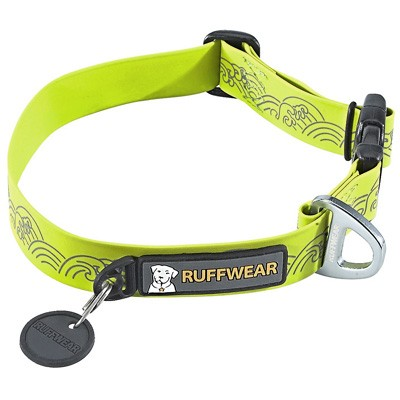 Wasserfestes Ruffwear Headwater Collar in Grün