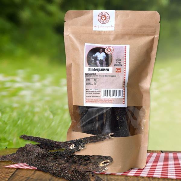 Rinderpansen-Snacks luftgetrocknet von Paul & Paulina