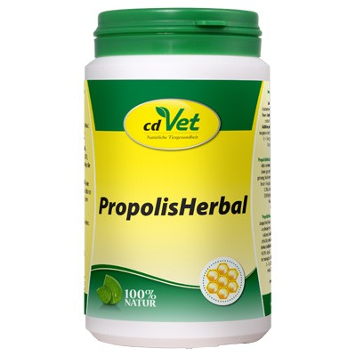 Propolis Herbal zum Aufpäppeln geschwächter Hunde