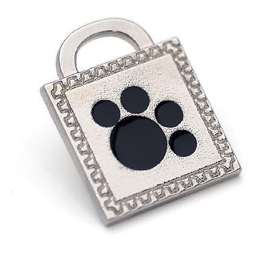 Hundeanhänger Paw Stamp. Hundeschmuck von Hamish McBeth