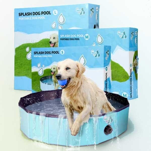 Splash Dog Pool robustes Hunde-Schwimmbad von Holland Animal Care